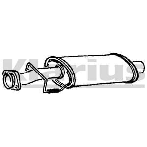 Reservdel:Citroen Xm Mittenljuddämpare