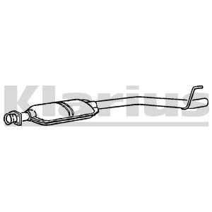 Reservdel:Mercedes C 180 Mittenljuddämpare
