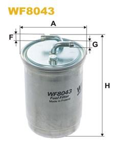 Reservdel:Volkswagen Lt 28-35 Bränslefilter