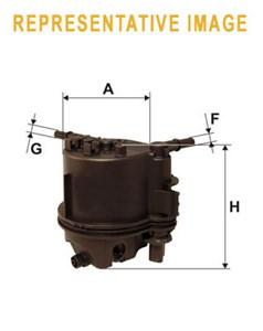 Reservdel:Ford Fusion Bränslefilter