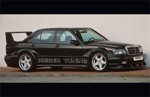 Reservdel:Mercedes 190 Dörrbreddardelar, Höger bak