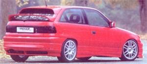 Reservdel:Opel Astra Bakvinge, Bak