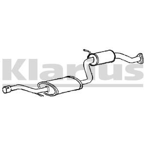 Reservdel:Volvo V40 Mittenljuddämpare