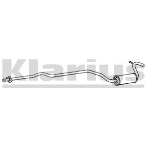 Reservdel:Ford Escort Mittenljuddämpare