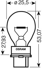 Glödlampa, blinker, Bak, Fram, Baklucka, Bakruta