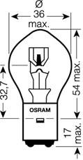 Glödlampa, huvudstrålkastare