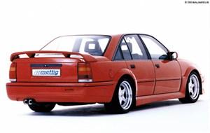 Reservdel:Opel Omega Stötfångare, Bak