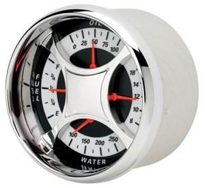 Oljetrykk/Vanntemp/volt/Tankmåler, Universal