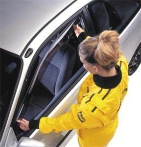 Reservdel:Opel Frontera Vindavvisare, Fram