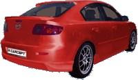 Reservdel:Mazda 2 Bakvinge, Bak