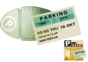 Parkeringsbilletthållare, Universal