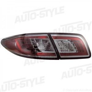 Reservdel:Mazda 2 Baklykter, LED, Bak