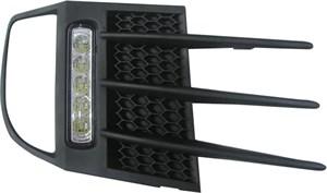 Tåkelyktsett med grill og DRL-lys