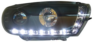 Reservdel:Volkswagen Scirocco Strålkastare