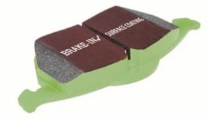 Brake pads GREENSTUFF, Rear