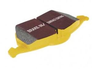 Bremseklosser Yellowstuff, Foran