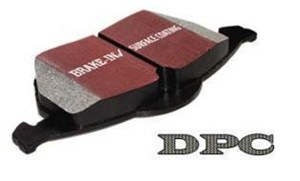 DPC Carbon Bremseklosser, Foran