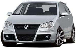 Reservdel:Volkswagen Polo Frontspoiler, Fram