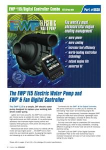 Elektrisk vattenpump, Universal