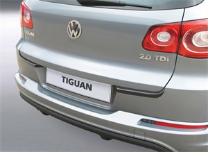 Reservdel:Volkswagen Tiguan Stötfångarskydd, bak, Bak