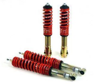 Coilovers, Foran og bag