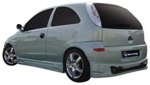 Reservdel:Opel Corsa Bakdel, Bak