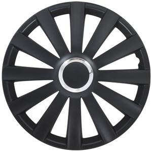 Hjulkapsler/navkapsler, Spyder - m Kromring