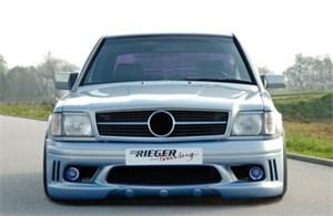 Reservdel:Mercedes 190 Stötfångare, fram, Fram
