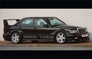Reservdel:Mercedes 190 Sidodel, Vänster bak
