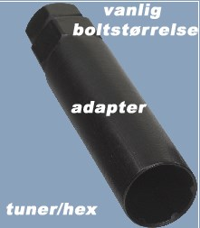 Adapter til 6-Spline, Universal