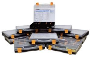 Tarvikelaatikko pidikkeet & painonastat, Universal