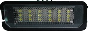 Reservdel:Volkswagen Scirocco Skyltbelysning, LED