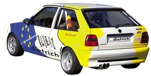 Reservdel:Volkswagen Polo Stötfångare, Bak