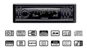 Headunit MP3/WMA, Universal