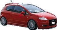 Reservdel:Fiat Punto Stötfångare, fram, Fram