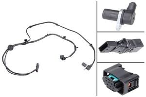 ABS-givare, Sensor, hjulvarvtal, Bakaxel, Vänster