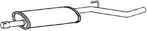 Reservdel:Citroen C8 Mittenljuddämpare