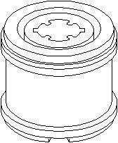 Hållare, hjälpram/aggregatfäste, Höger eller vänster