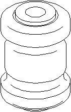 Lagring, styrestang, Foran, Innvendig, Foran, høyre eller venstre
