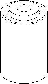 Bussning, länkarm, Ytter, Fram, höger eller vänster, Nedre