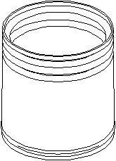 Skyddskåpa/bälg, stötdämpare, Bak, höger eller vänster, Fram, höger eller vänster