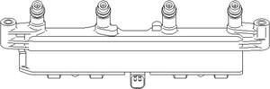 Reservdel:Citroen C3 Tändspole