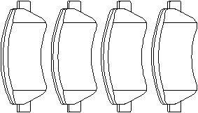 Bremseklodser, Bag