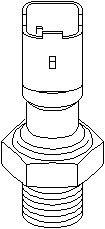 Reservdel:Citroen C3 Varningsswitch, oljetryck