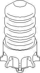 Reservdel:Citroen C3 Axelupphängning, Bak, höger eller vänster