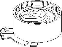 Reservdel:Citroen C3 Spännrulle, kamrem