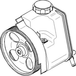 Hydrauliikkapumppu, ohjaus