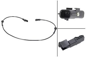 ABS Sensor, Bagaksel, Højre, Venstre