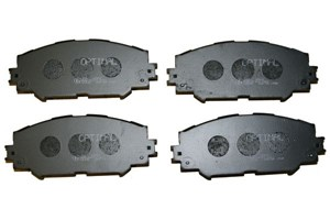 Brake Pad Set, disc brake, Front