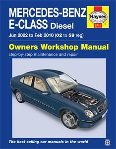 Haynes' reparasjonshåndbok, engelsk, Mercedes-Benz E-Class
